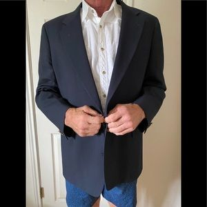 Joseph A Bank. Dark navy sport coat